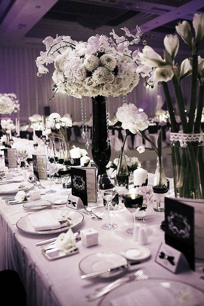 Black Wedding Decoration Ideas On Decorations With I Picked And Ivorywanted Something Clically Elegant That 16