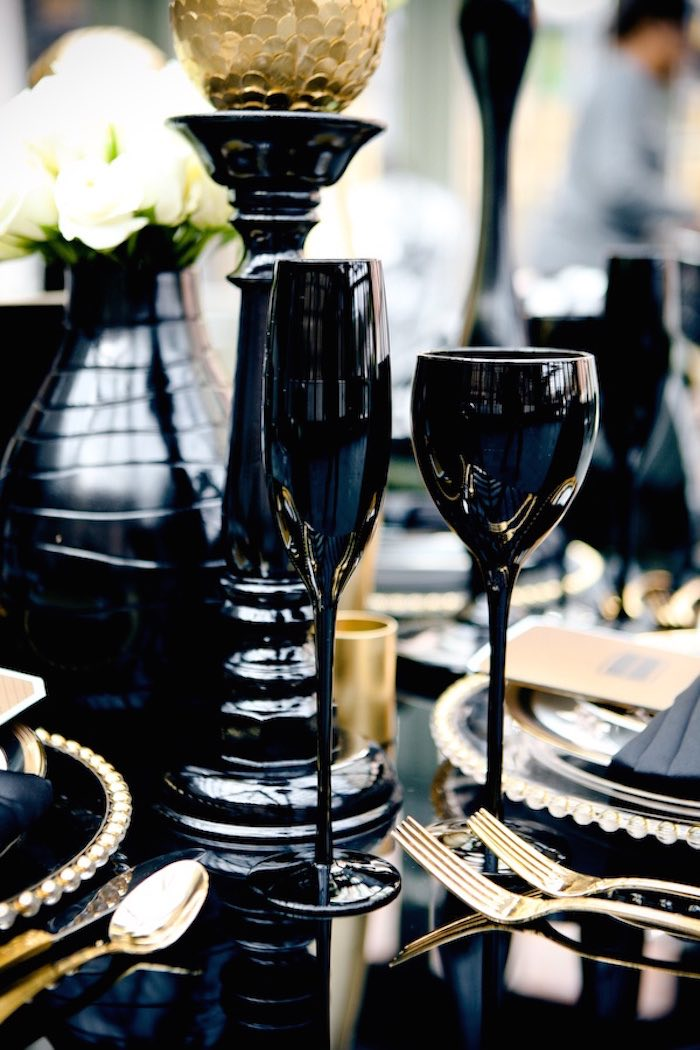 Black Tie Wedding Ideas That Dazzle