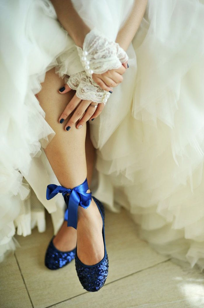 Featured Shoes Via Tradesy Blue Wedding Shoes