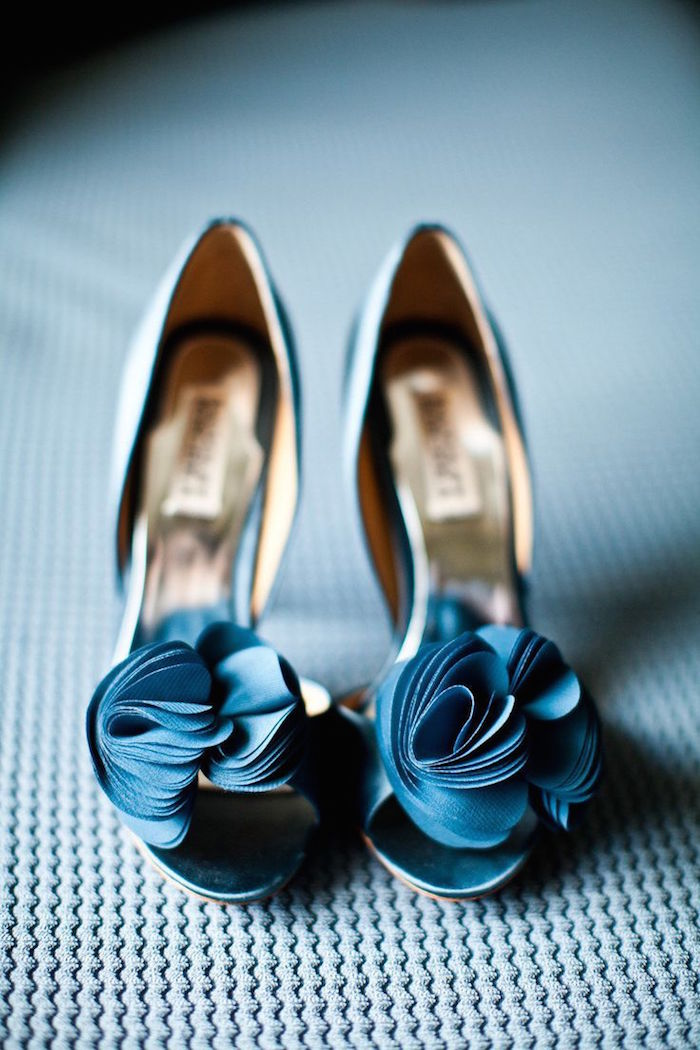 Blue wedding shoes that dazzle modwedding blue wedding shoes 2 08272015 km junglespirit Image collections