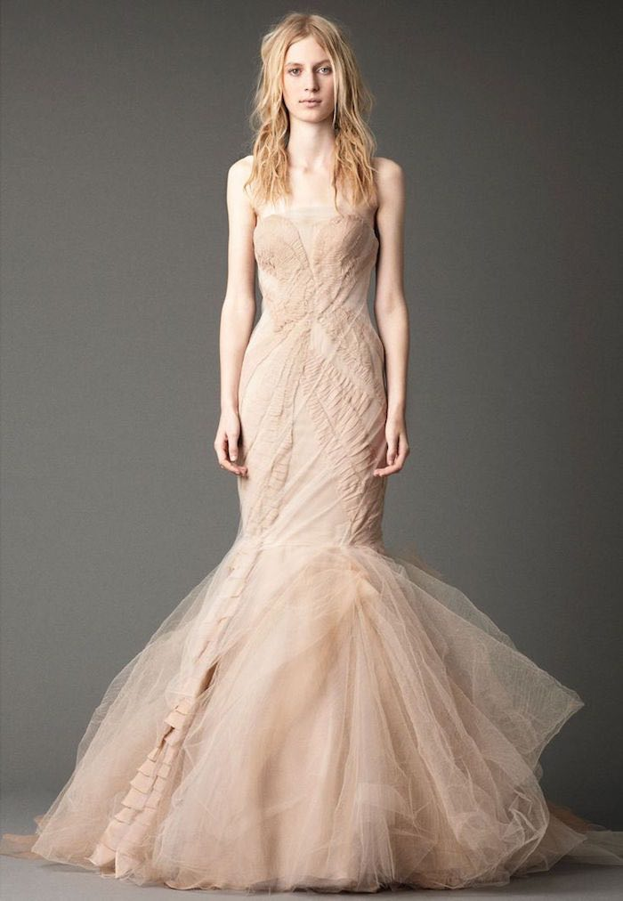 Blush wedding dresses with classic details modwedding blush wedding dresses 10 091915ch junglespirit Choice Image
