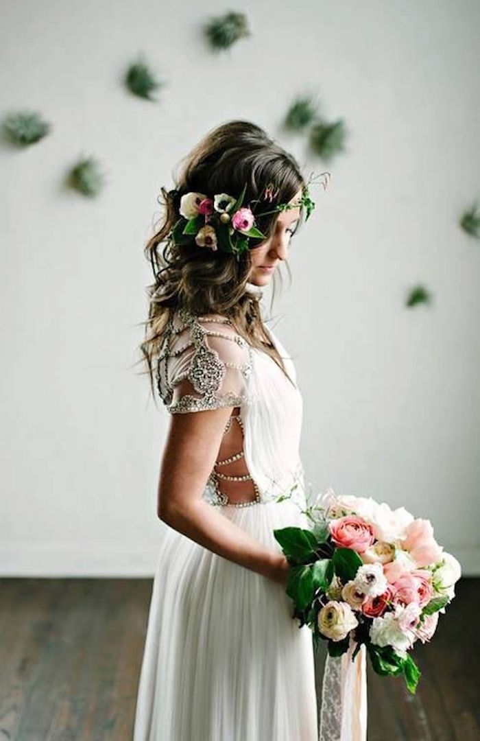chic bohemian wedding dresses made perfection