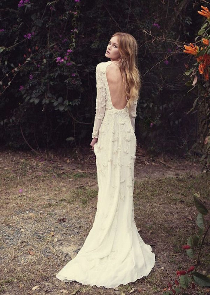 Bohemian wedding dresses for stylish brides modwedding for Image of wedding dresses