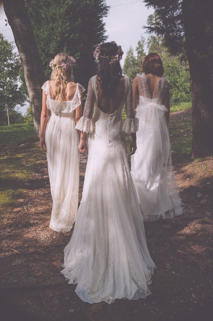 Matrimonio Bohemien Wedding : Bohemian wedding dresses for stylish brides modwedding