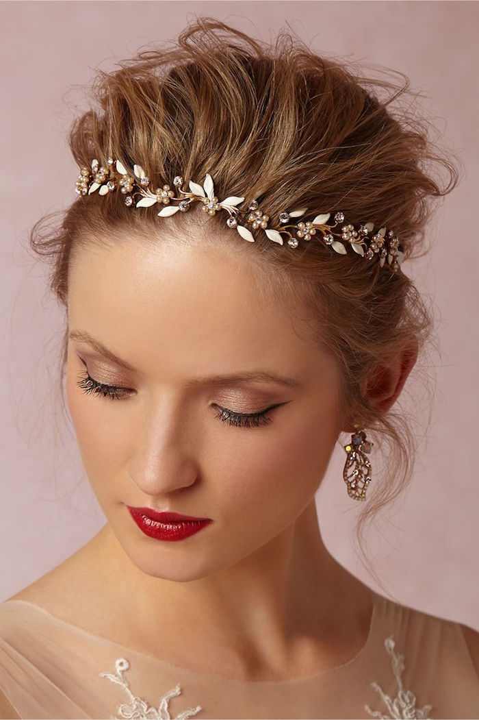 Wedding Hair And Makeup Ct Jonathan Edwards Winery: Bridal Hair Accessories From BHLDN