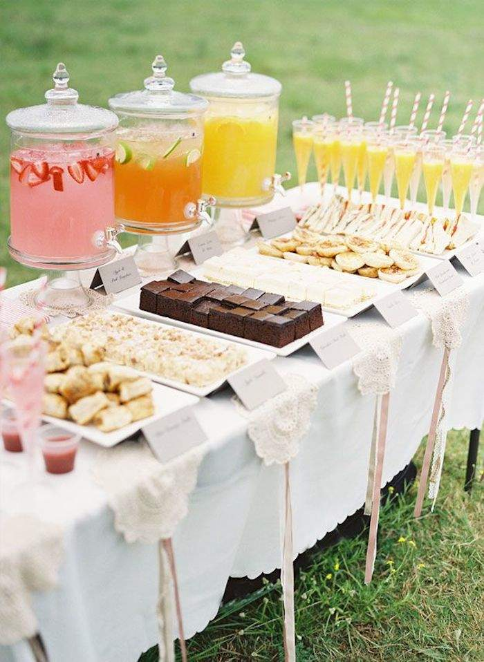 fun and feminine bridal shower ideas modwedding