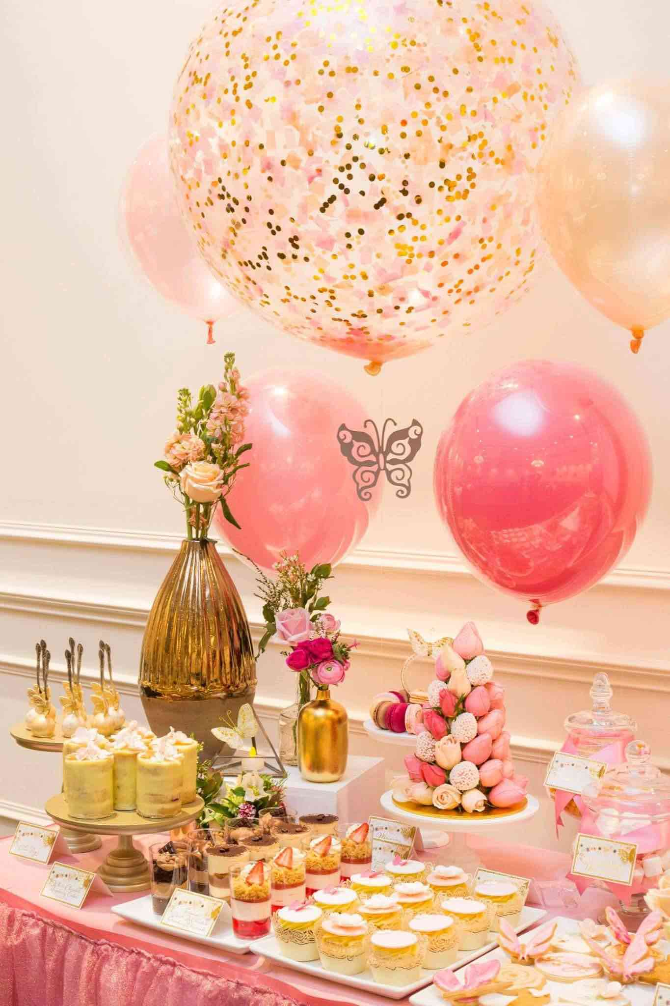 Bridal shower 101 everything you need to know for Wedding party decorations