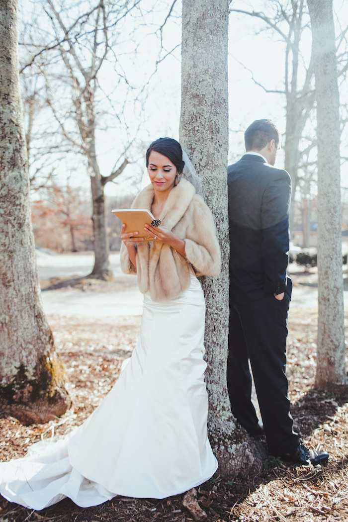 Winter Wedding With Diy Details Modwedding