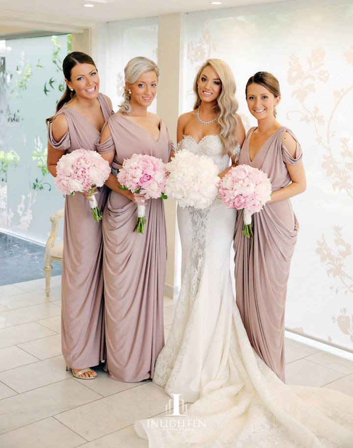 Stylish bridesmaid dresses your girls will love modwedding for White dress after wedding