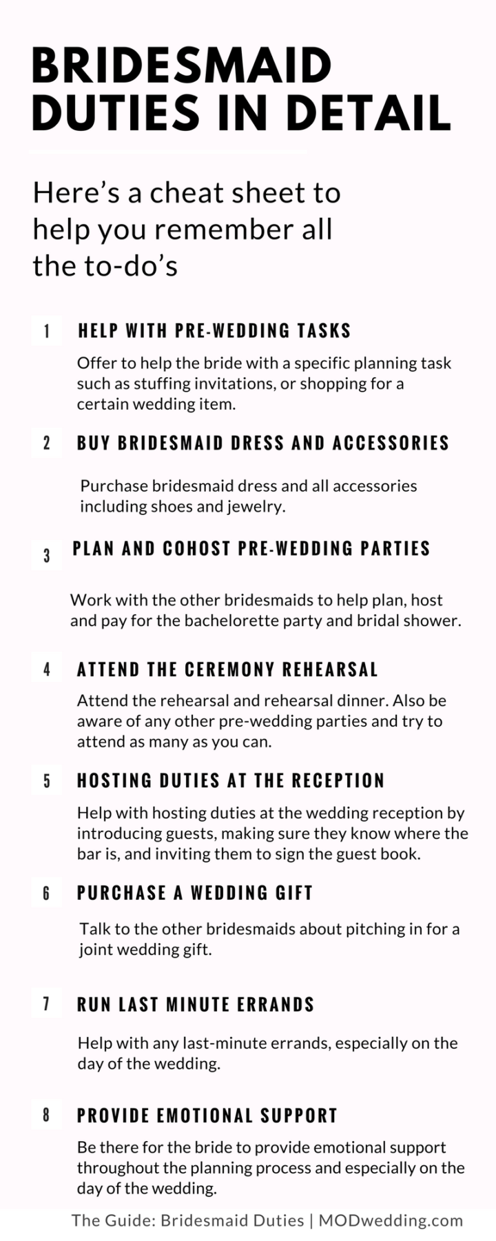 Bridesmaid Duty In Details 04252017