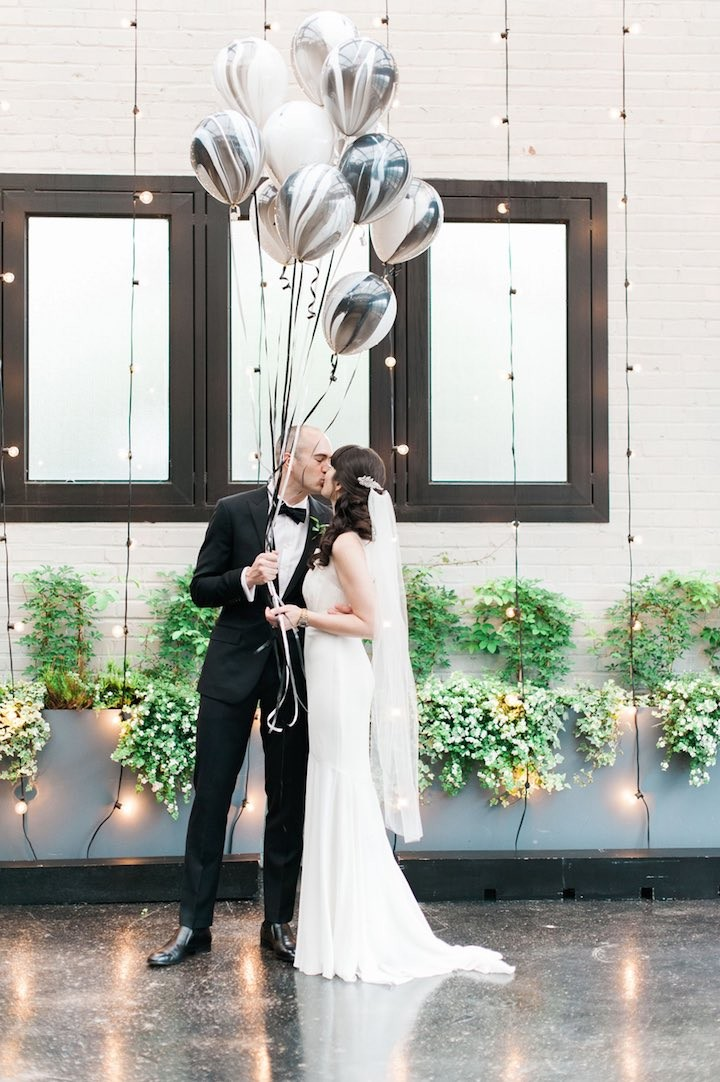 Modernly Chic Brooklyn Wedding Modwedding