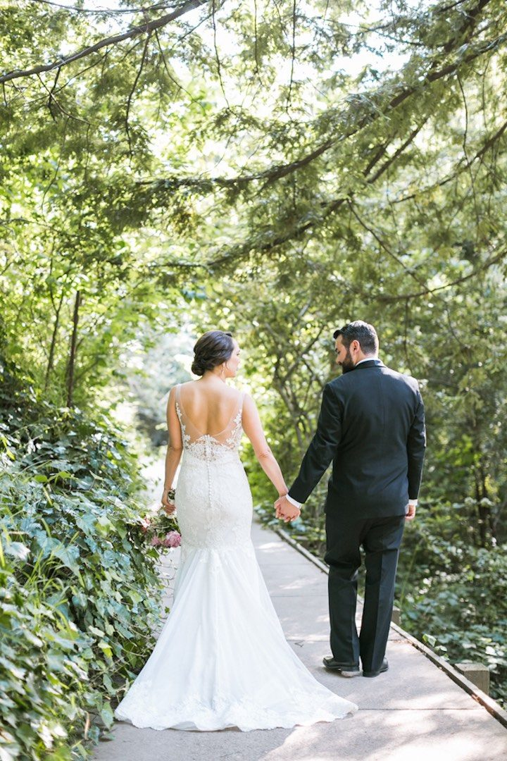 vividly chic california wedding