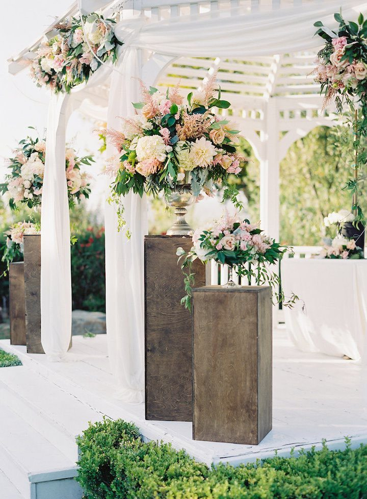 Romantic Garden Chic California Wedding Modwedding