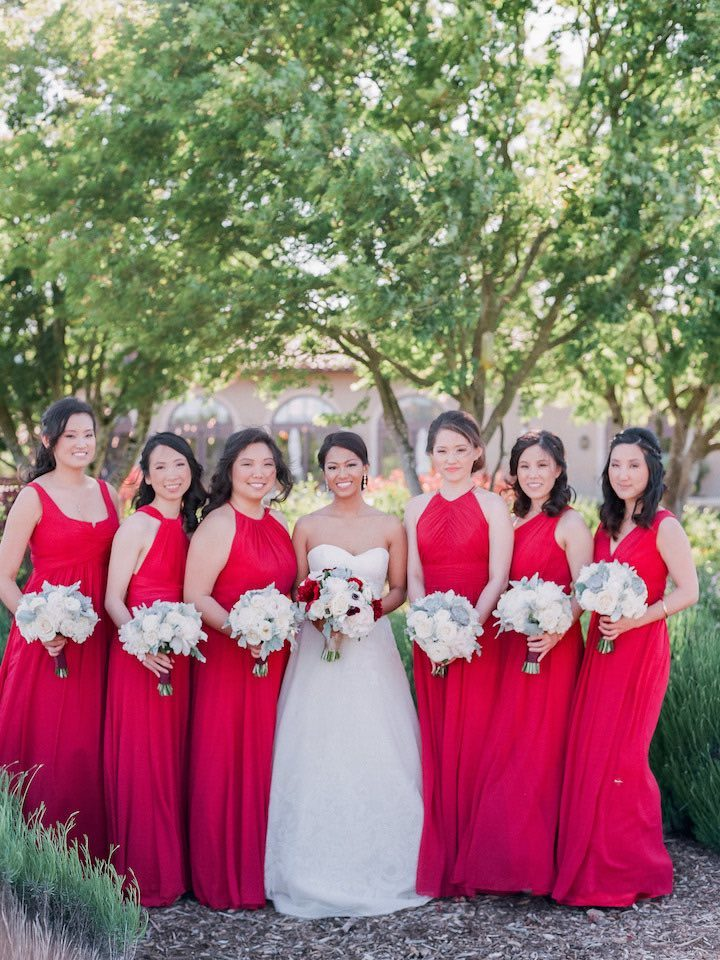 Red Wedding Party