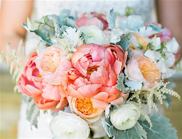 Colorful California Wedding with Vibrant Florals