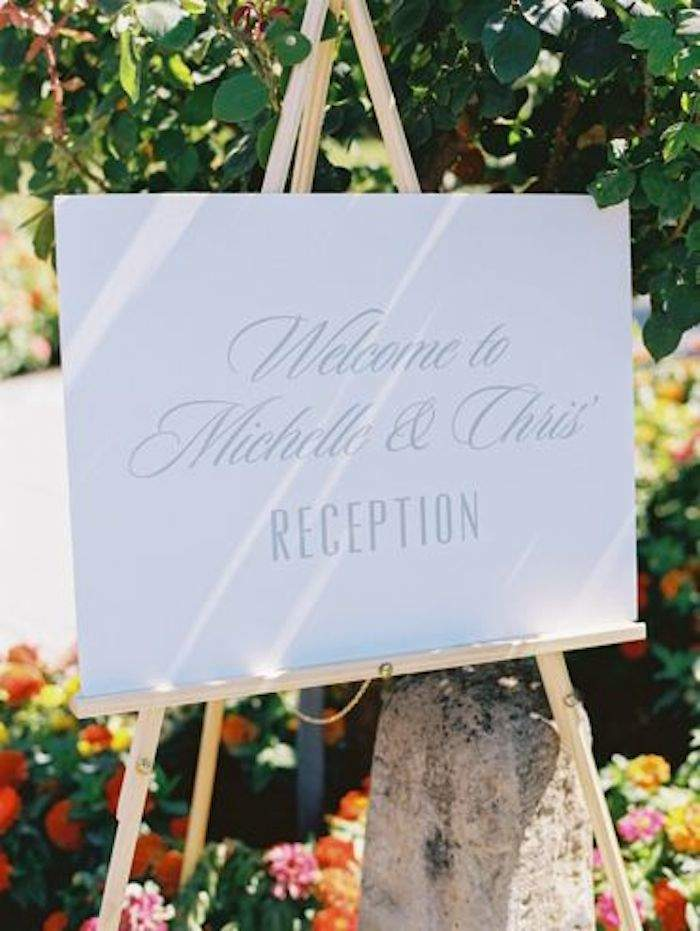 Calligraphy Wedding Sign 19 090315ch