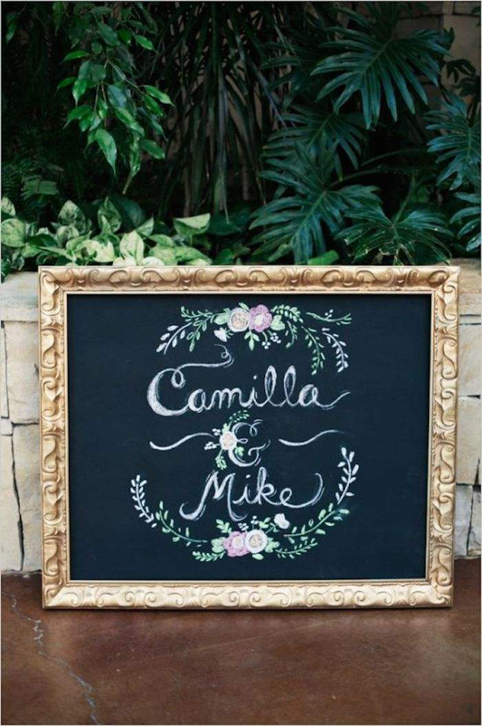 Creative calligraphy wedding signs modwedding calligraphy wedding sign 4 090315ch junglespirit Images