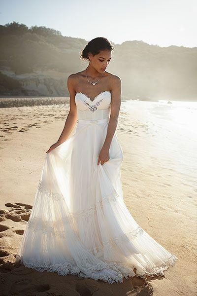 Wedding Dresses Beach Casual : Casual beach wedding dresses to stay cool lushzone