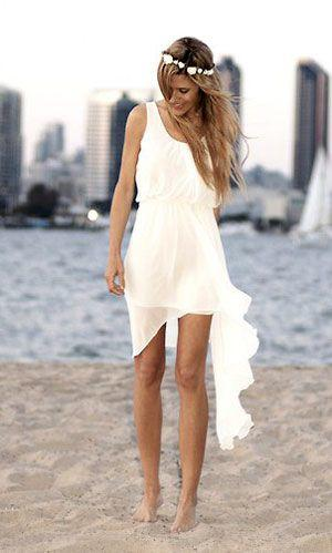casual beach wedding dresses 19 08192015ch. Black Bedroom Furniture Sets. Home Design Ideas