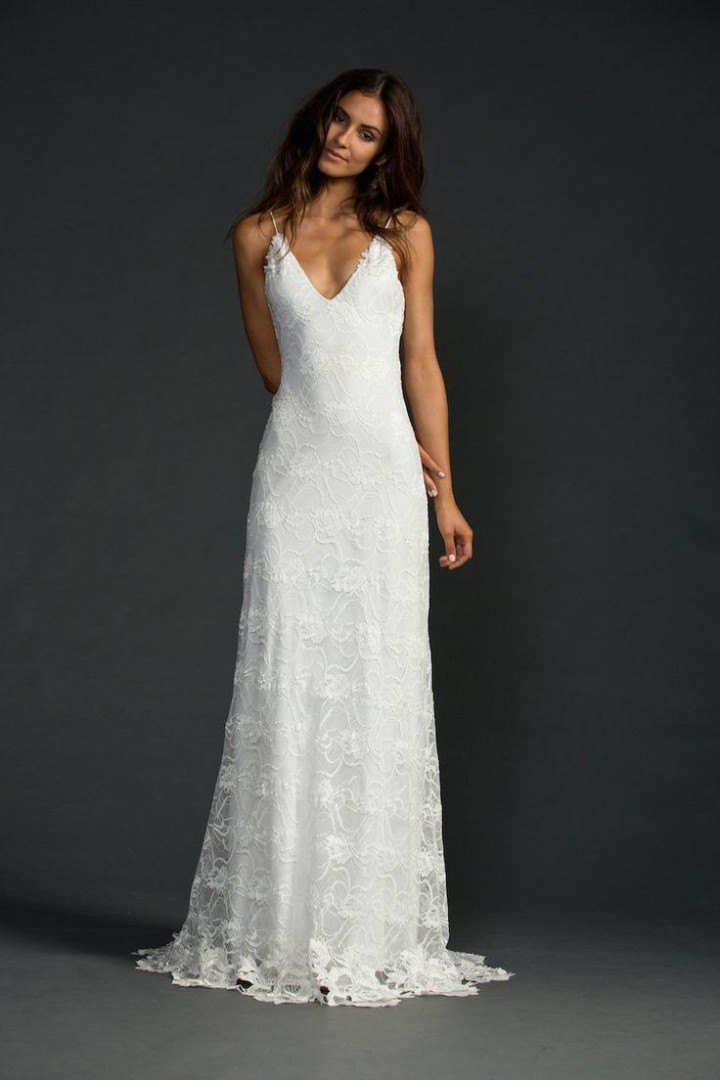 Casual wedding dresses for the minimalist modwedding for Wedding dresses casual beach
