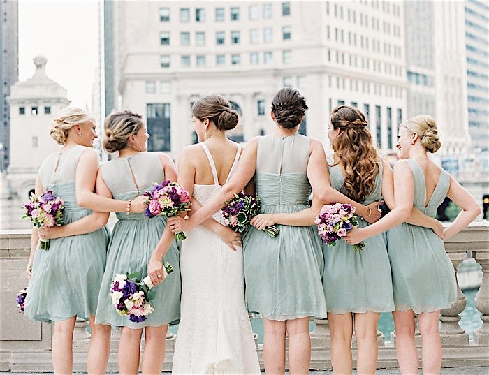 Scenic Chicago Wedding at Cafe Brauer
