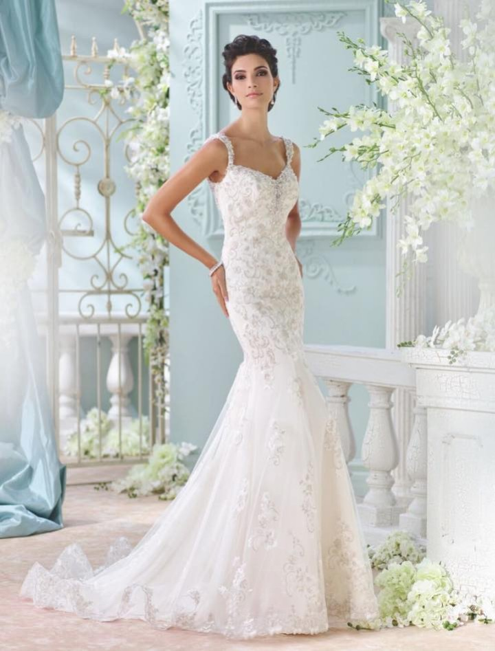2016 david tutera for mon cheri wedding dresses crazyforus for David tutera beach wedding dresses