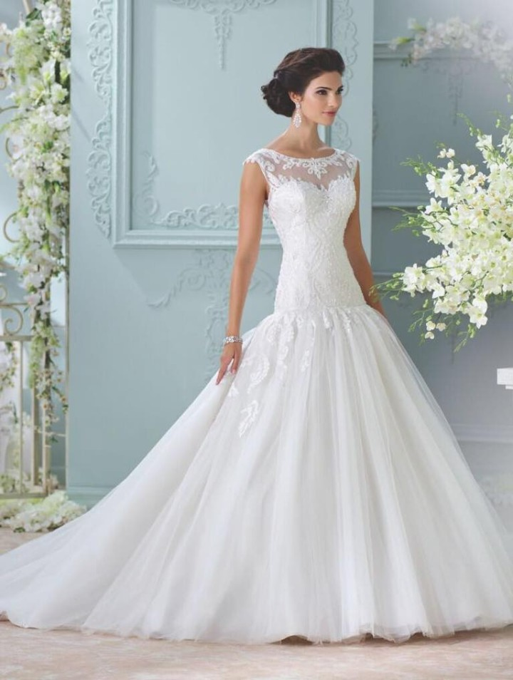 2016 David Tutera For Mon Cheri Wedding Dresses Modwedding
