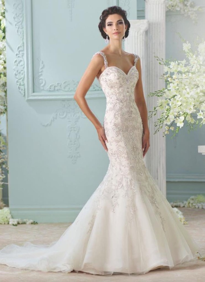 2016 david tutera for mon cheri wedding dresses modwedding for David s bridal clearance wedding dresses
