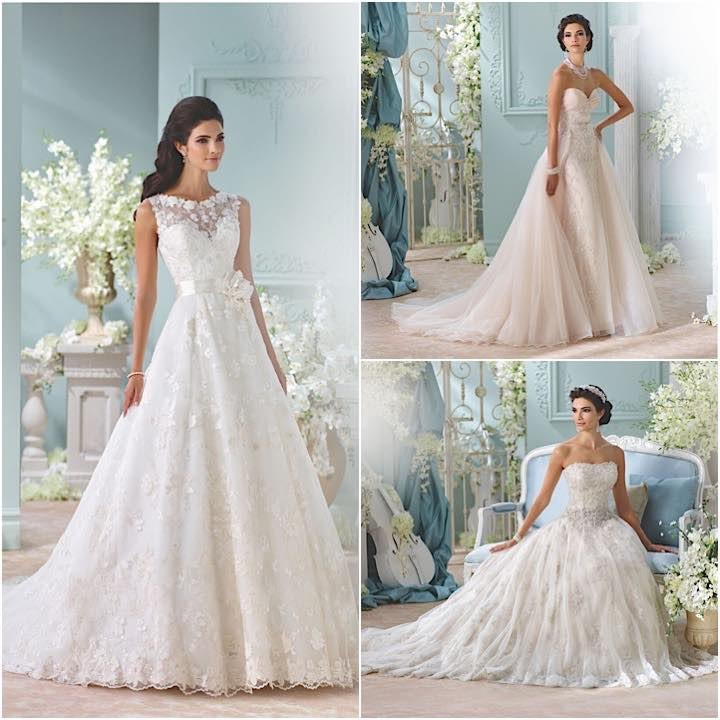 2016 David Tutera For Mon Cheri Wedding Dresses
