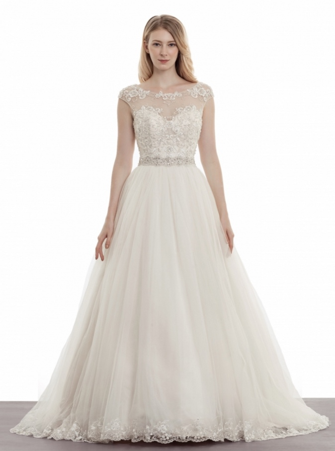 Elegant Wedding Dresses Images : Bridal runway trends modern elegant wedding dresses