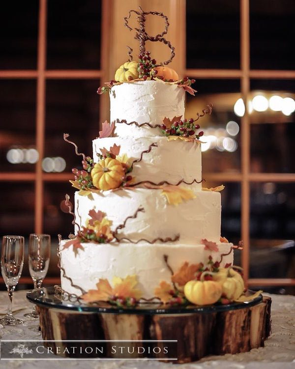 wedding cakes fall spectacular fall wedding cake ideas modwedding 24337