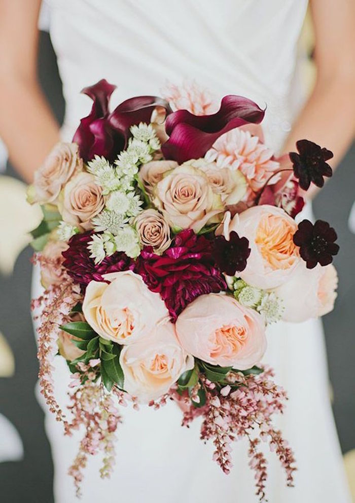 Fall wedding colors with lush details modwedding fall wedding colors 5 09032015 km junglespirit Gallery