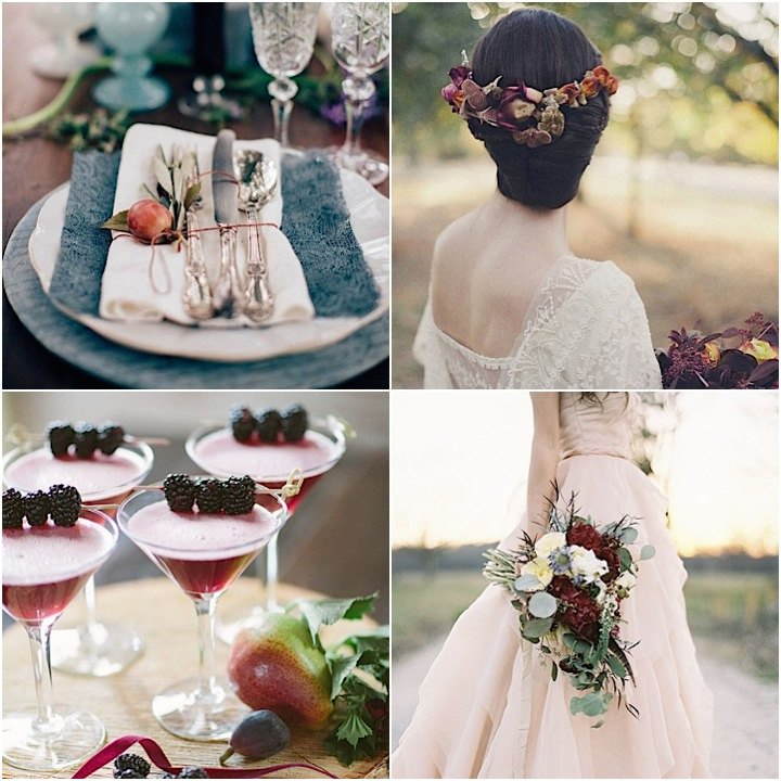 Rustic Fall Wedding Favor Ideas: Fall Wedding Ideas With Luxe Rustic Style