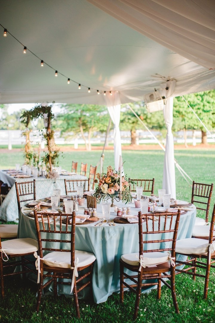 Charmingly Elegant Kentucky Farm Wedding