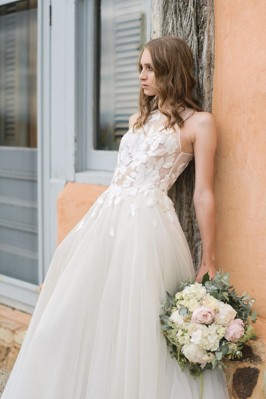 Romantic French Wedding Inspiration Shoot from Sephory Photography ...