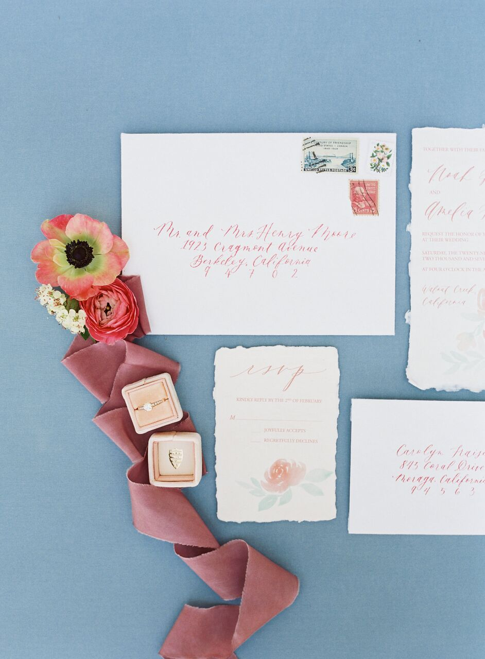 Blue Springtime Garden Wedding Inspiration from Nathalie Cheng Photography