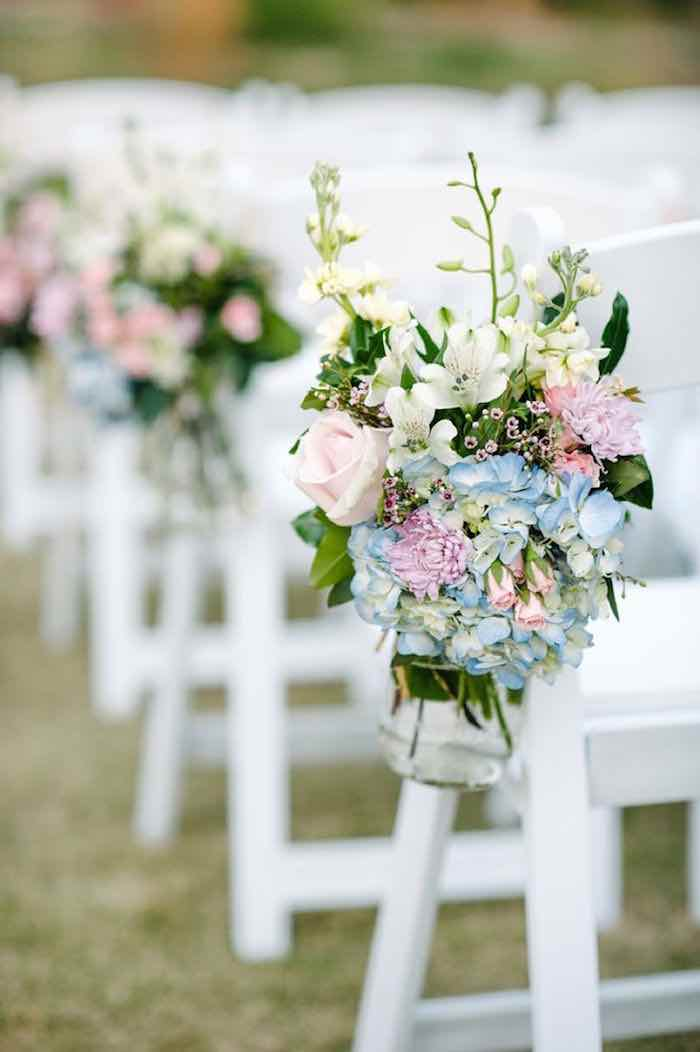 floral decorations for wedding garden wedding ceremony ideas modwedding 4108
