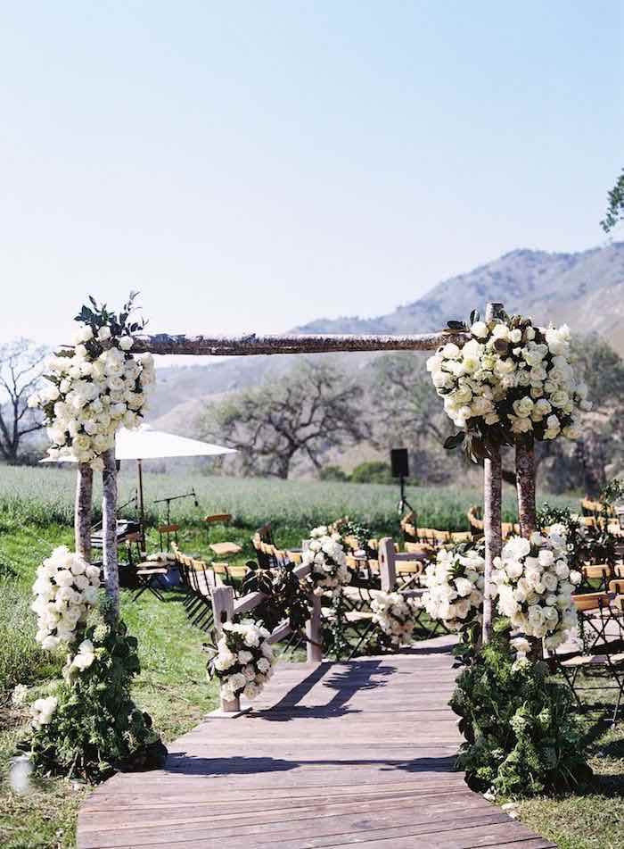 Elegant Garden Wedding Ceremony Ideas - MODwedding