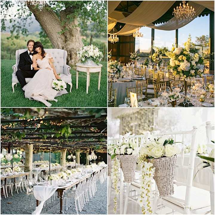 Garden Wedding Themes Ideas: Romantic Garden Wedding Ideas In Bloom