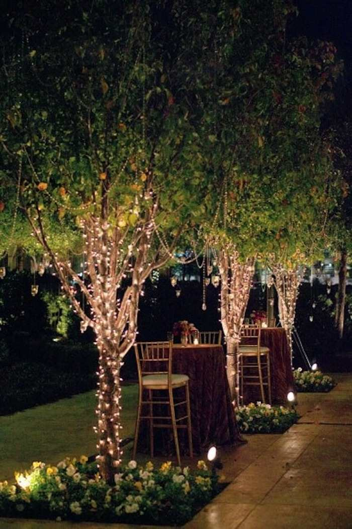 Romantic Garden Wedding Ideas in Bloom - MODwedding on Romantic Backyard Ideas id=14369