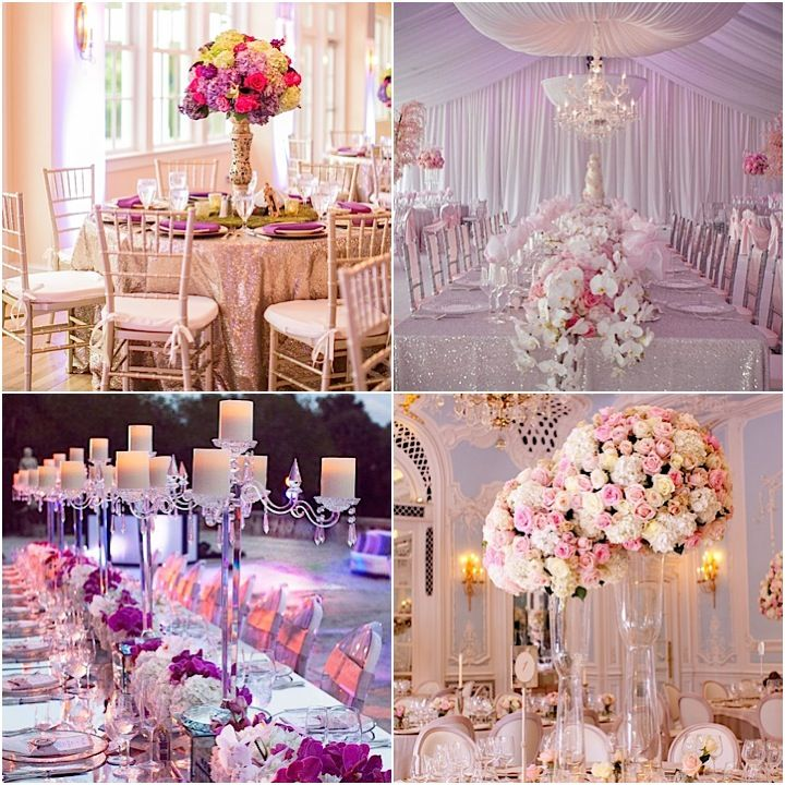 Glamorous Wedding Centerpieces Modwedding
