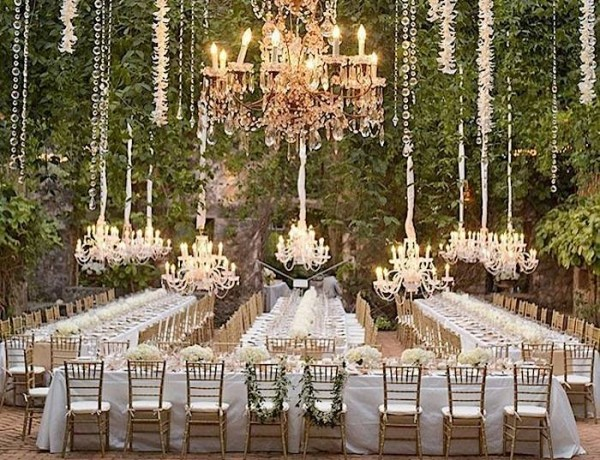 How to Design a Glamorous Wedding Reception