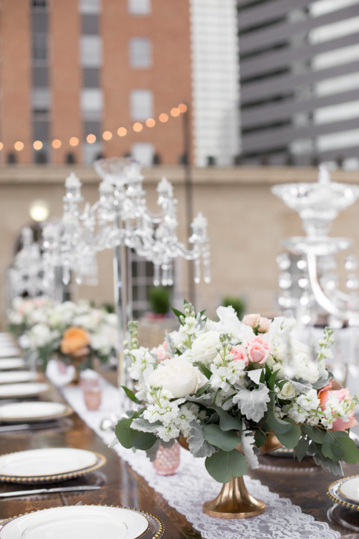 Elegant Rooftop Dallas Wedding With Southern Charm From