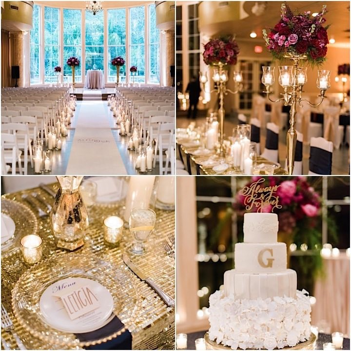 Glam Houston Wedding At Chateau Polonez Modwedding