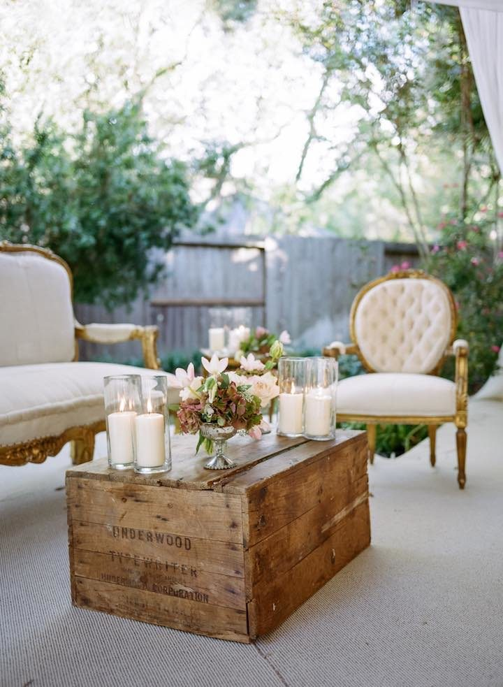 Most Romantic Backyard Houston Wedding Modwedding