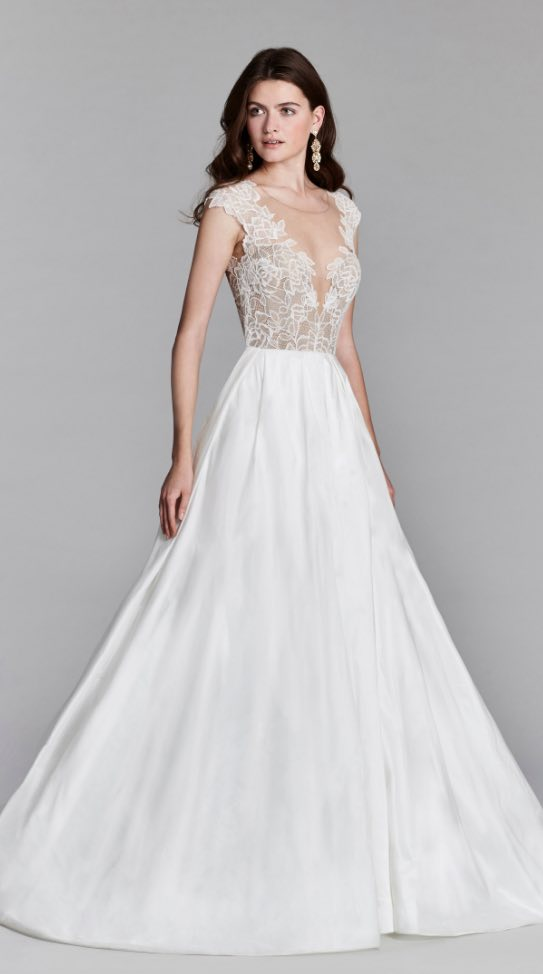 Wedding Dress Inspiration - Jim Hjelm by Hayley Paige