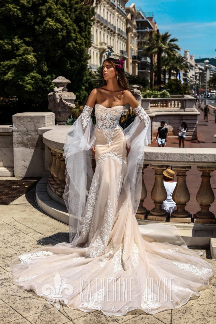Romantic Katherine Joyce Wedding Dresses With Modern