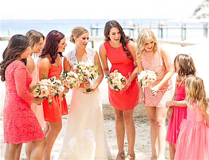 Romantic Summer Lake Tahoe Wedding
