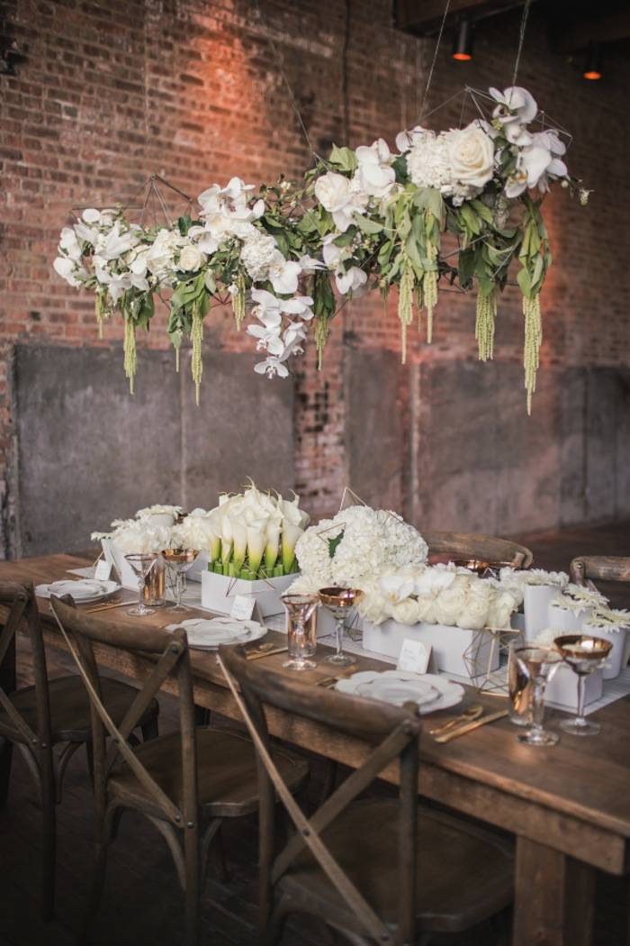 Loft Wedding Ideas With Elegant Design Modwedding