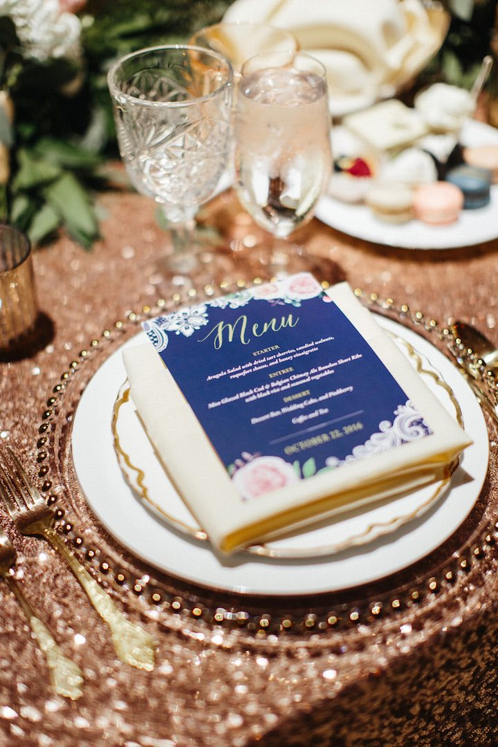 Colorfully Chic Garden Style Los Angeles Wedding Modwedding